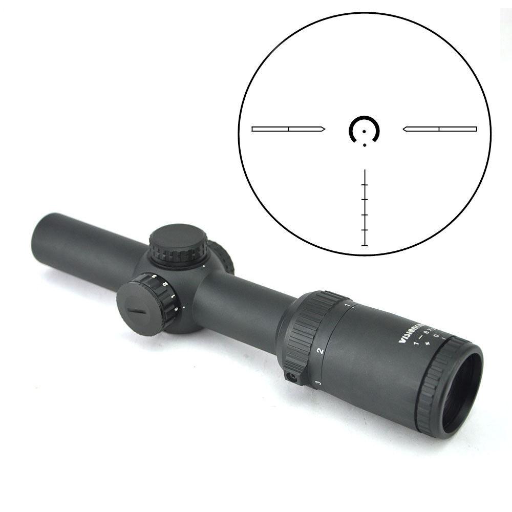 Visionking 2018 nuevo 1-8x24 Rifle Militar Táctico Caza Disparo vista