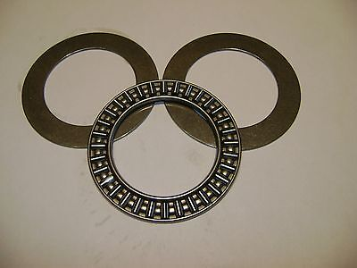 AXK2542 Thrust Needle Roller Bearing With Two Washers 25mm x 42mm x 2mm