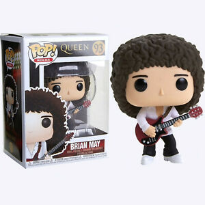 "Queen Brian May 3.75/"" POP Rocks Figura in Vinile Funko 93"