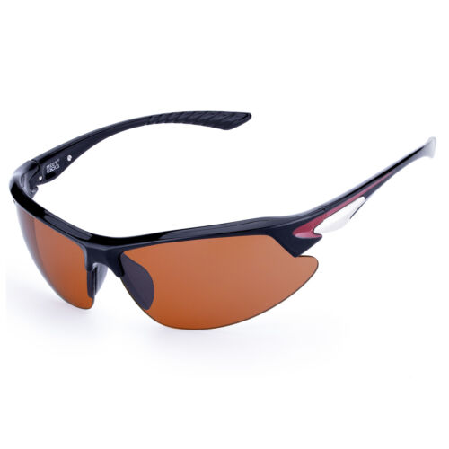 MEETLOCKS Sports Sunglasses UV 400 For Cycling Riding Driving Outdoor Activity