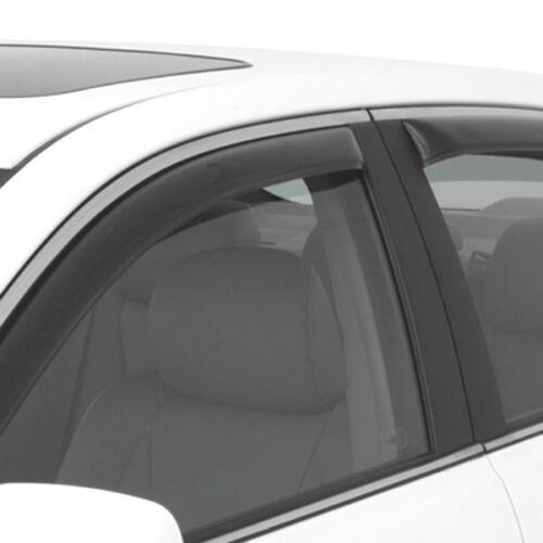 For Honda HR-V 16-19 In-Channel Ventvisor Smoke Front /& Rear Window Deflectors