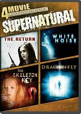 4 Movie Midnight Marathon Pack: Supernatural (DVD, 2014) Four Horror Films USED