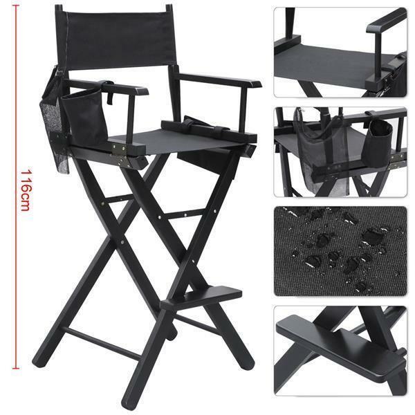 Makeup Chair/tall Director Chair for Make up Artist Hairstylist Party Events | eBay