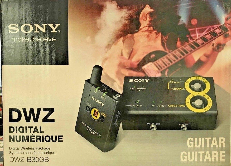 Sony - DWZ-B30GB - Digital Wireless Guitar System