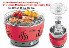 Tischgrill Rauchfrei mit Lüftung Holzkohle Grill Florabest (wie Lotus)Balkon NEU