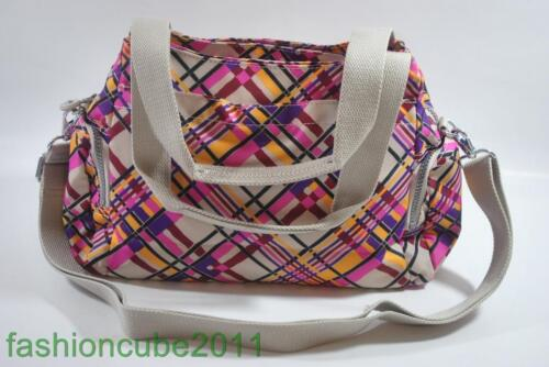 Cream Plaid Large SHOULDER//CROSSBODY BAG New With Tag KIPLING FELIX FAIRFAX