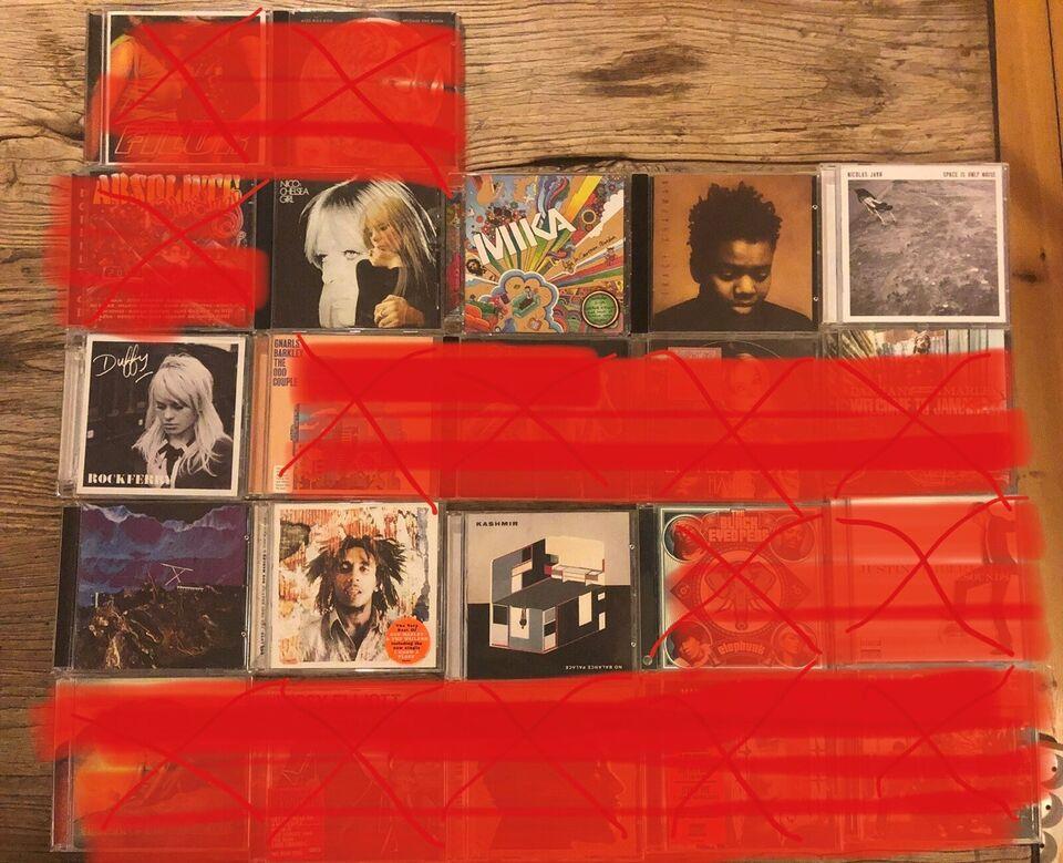Flere artister: mange albums, andet