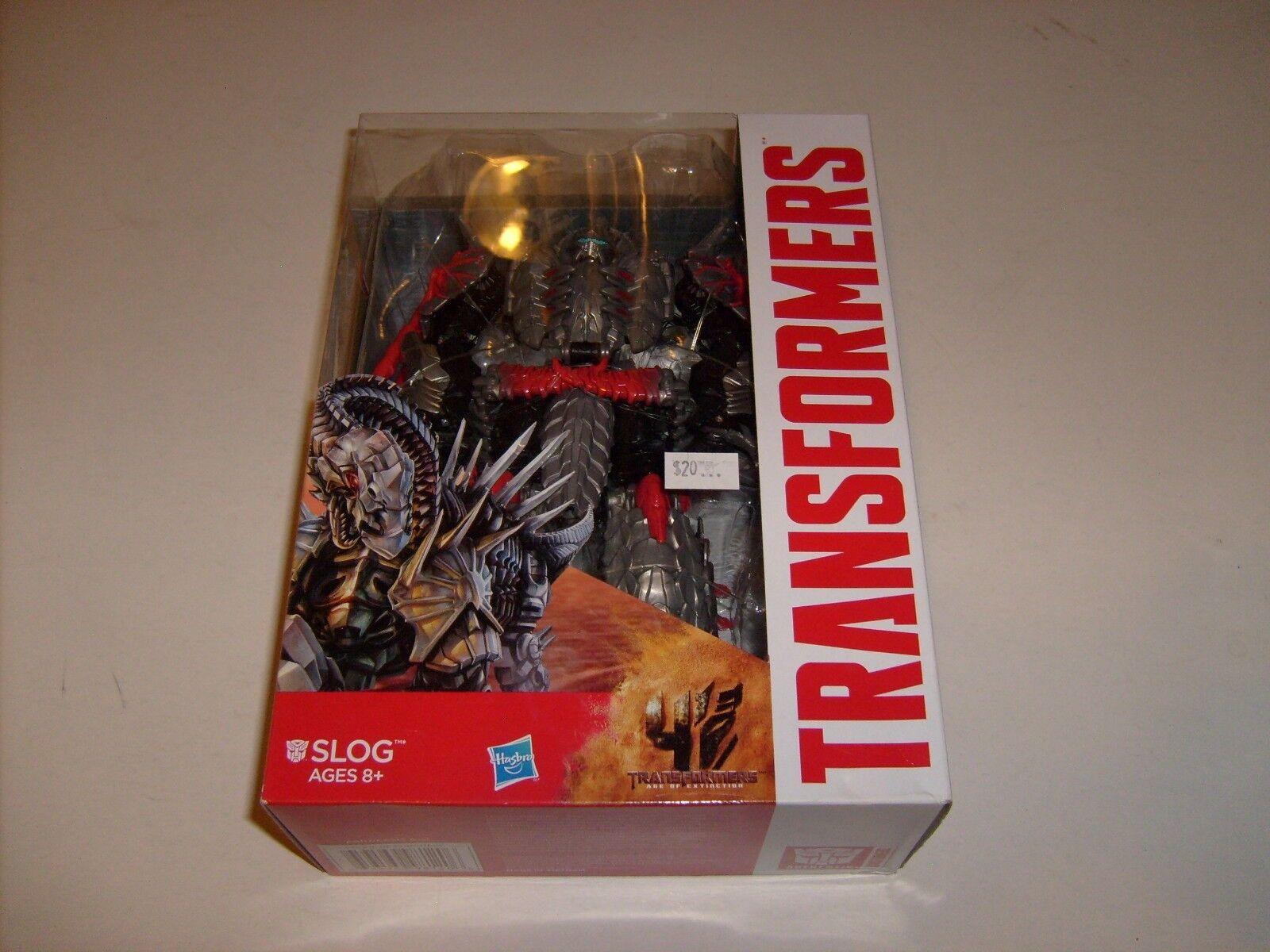 Hasbro Transformers Age of Extinction Generations Voyager SLOG NEW MIB HASBRO