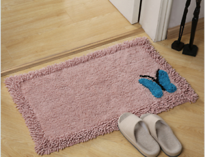 100-Cotton-Absorbent-Soft-Shaggy-Non-Slip-Bath-Mat-Shower-Home-Floor-Rug-Carpet