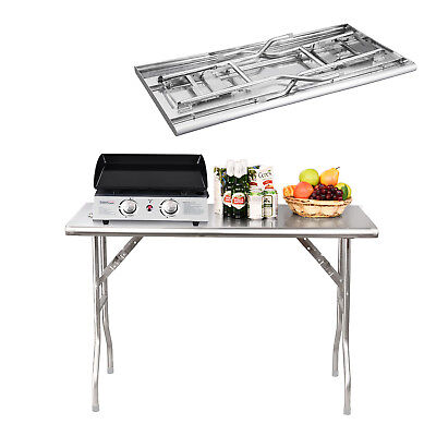 Royal Gourmet Stainless Steel Outdoor Bbq Folding Work