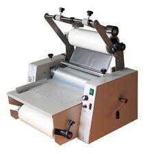 14 365mm Anti Curl Single Amp Double Laminating Machine A3 Hot Roll Laminator