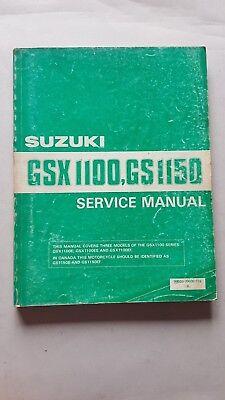Affidabile Suzuki Gsx 1100 Gs 1150 1984 Manuale Officina Originale Workshop Manual