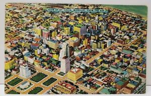 View-of-St-Louis-Missouri-from-the-Air-Linen-Postcard-C25