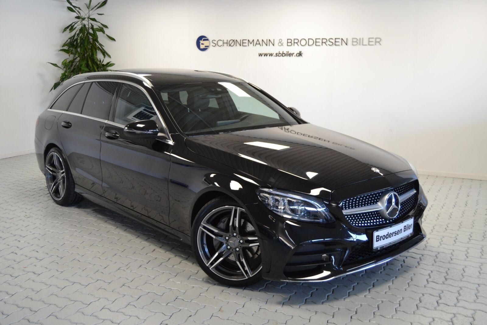 Mercedes C220 d 2,0 AMG Line stc. aut. 5d - 499.900 kr.