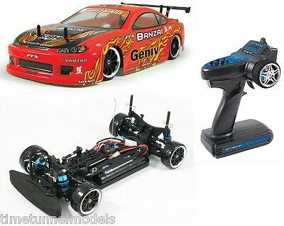 Genial Ftx Banzai 1/10 Ready Built 2.4ghz Fast Drift Car W/bat & Waterproof Electrics Kann Wiederholt Umgeformt Werden.