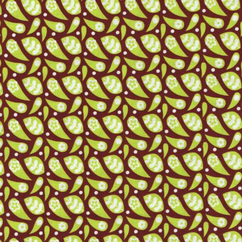 Fabric Freedom Funky Flowers 100/% Cotton Fabric FQ Craft Quilt Patchwork Lime