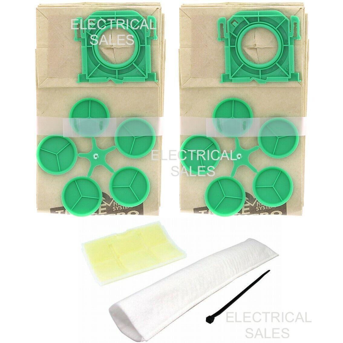 Für Sebo Staubsauger X1 X4 X5 Extra 10 Staub Beutel /& 2 Filter Service-Kit