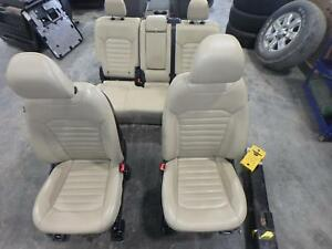 Image Is Loading   Ford Edge Front Rear Seat Tan