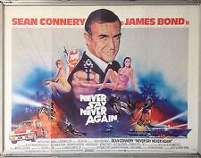 Cinema Poster: JAMES BOND NEVER SAY NEVER AGAIN 1982 (Main Quad)
