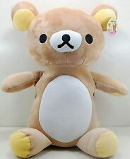 3D San-X Rilakkuma Bear  Doll Kids Boys Girls Plush Shoulder Bag Backpack