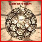 [Display House Light] Silver Chandelier Round Ball Ceiling Pendant Light 40cm
