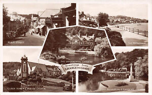 R126303 Greetings from Grange over Sands. Multi view. RA. RP