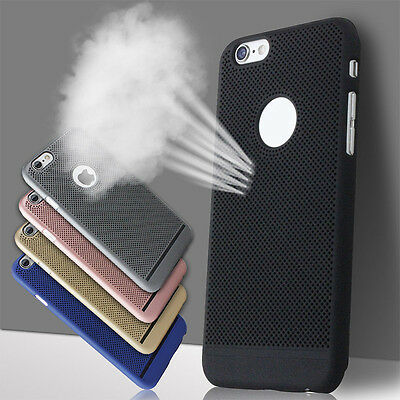 Cool Style Matte Heat Radiating Hard Phone Case Cover For iphone 5S 6S 7 Plus
