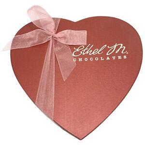 Vide d'éthyle M de la Saint-Valentin en forme de cœur chocolat candy box boîte vide