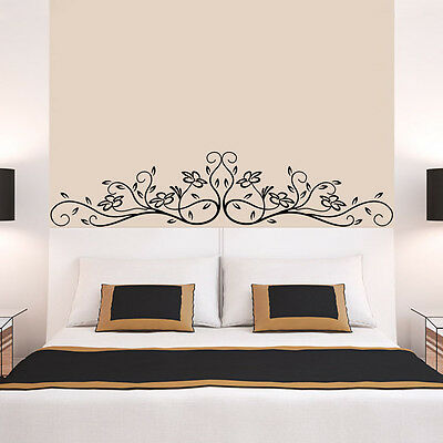 New Removable Wall Decor Art Home Decal Mural Bed Room Flower Vinyl Sticker