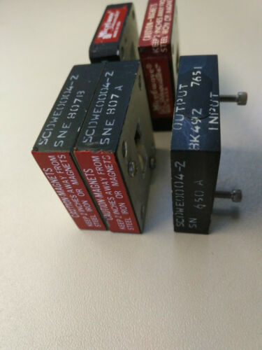 NORTHROP GRUMMAN AEROSPACE SCDWE0004-2 Waveguide Isolator WR-75
