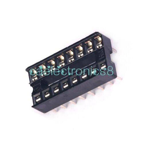 50 x New 16 pin 16pin IC Sockets Adaptor Solder Type