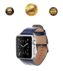 Apple Watch Genuine Leather Band 38mm iWatch Strap Metal Buckle Series 1 2 3