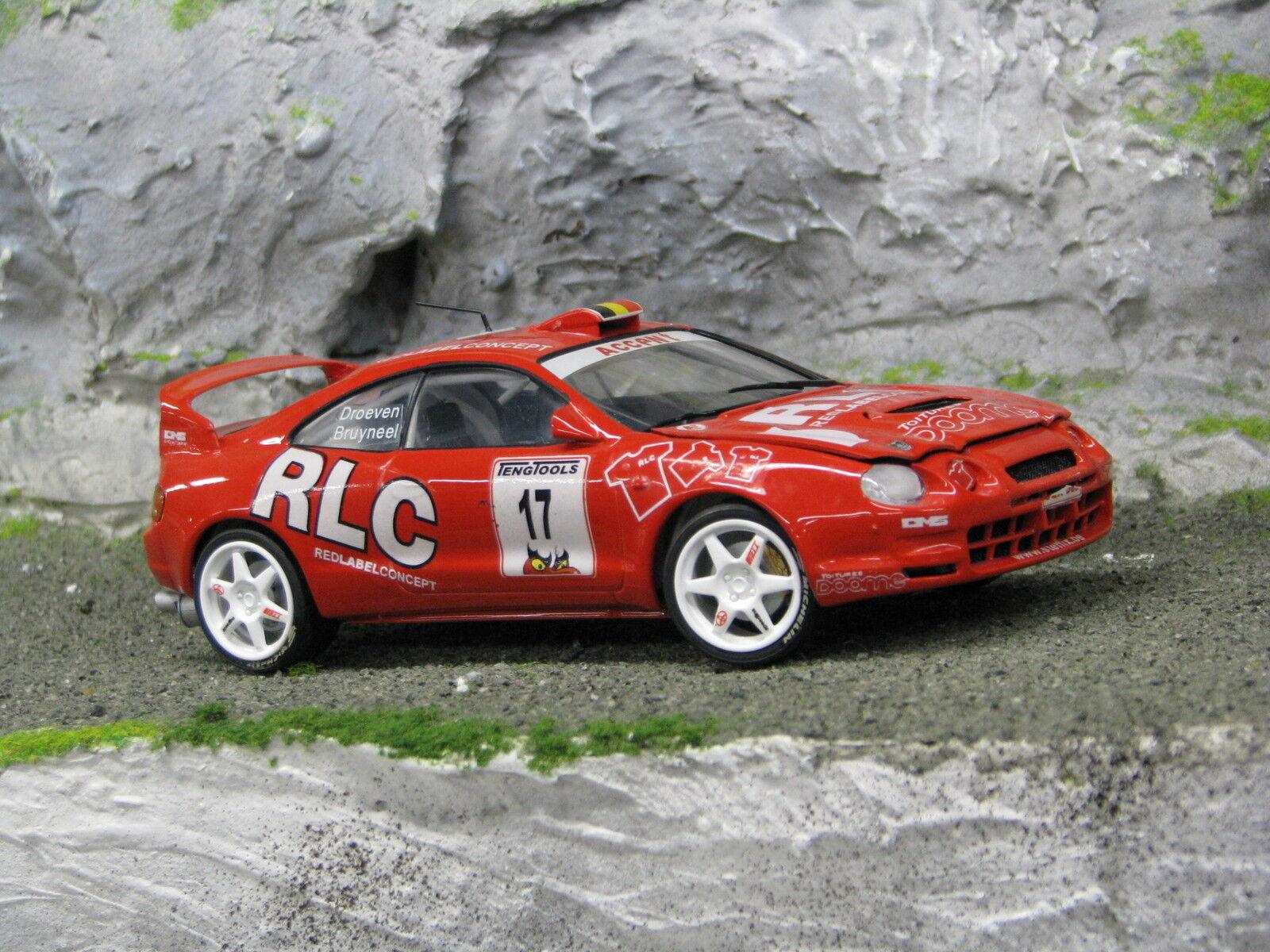 QSP Toyota Celica GT-Four 1:24  17 Bruyneel / Droeven Omloop van Vlaanderen 2001