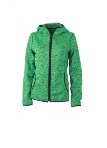 James /& Nicholson Damen Fleece Kapuzenpullover Sweatjacke Sweatshirt Shirt S-XXL