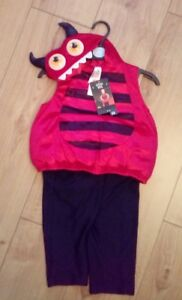 New Baby Red Little Devil Fancy Dress Party Costume Age 6 9 Months
