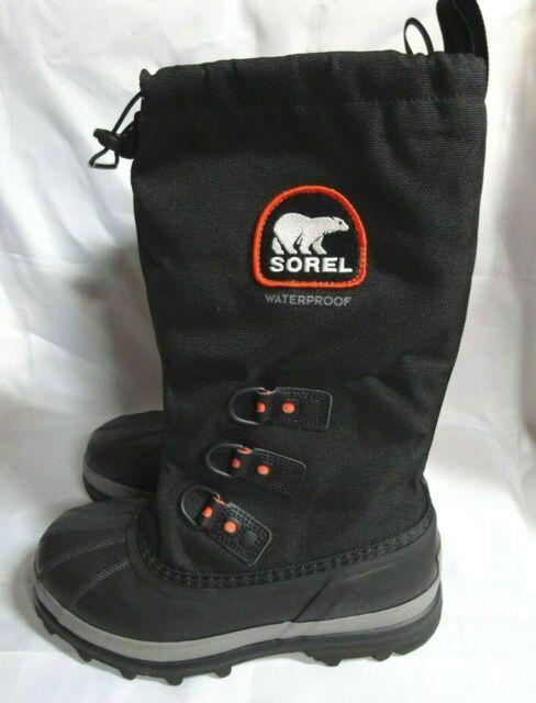 Sorel Mens Bear Extreme Snow Boot Black