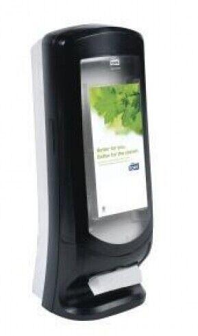 New Tork N4 Xpressnap  63320 Stand Napkin Dispenser - Clear/Black 235Mm D X