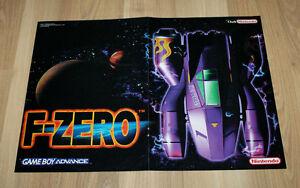 2001 Nintendo 64 F-Zero & ExciteBike 64 small Poster 30x42cm - Braunschweig, Deutschland - 2001 Nintendo 64 F-Zero & ExciteBike 64 small Poster 30x42cm - Braunschweig, Deutschland