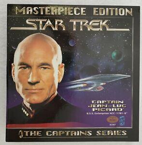 Star Trek La nouvelle génération de figurines et de livres Captain Picard Masterpiece Edition