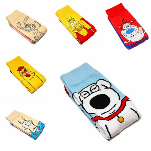 Newest Cartoon Anime Character SpongeBob   Unisex Adult Long Section Cotton Sock