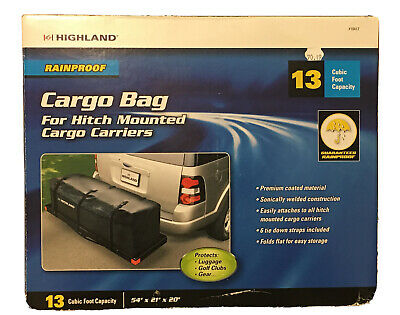 Highland 13 Cu Ft Rainproof Cargo Bag Model 1041700 54 X21 X20 New In Box Ebay