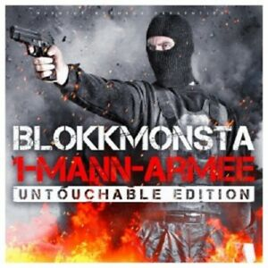 BLOKKMONSTA - 1-MANN-ARMEE (UNTOUCHABLE EDITION)  CD  HIP HOP / RAP  NEUF
