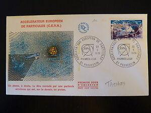 France Premier Jour Fdc N° 1908 Conseil Europeen Nucleaire 1,40f Prevessin 1976 Cool En éTé Et Chaud En Hiver