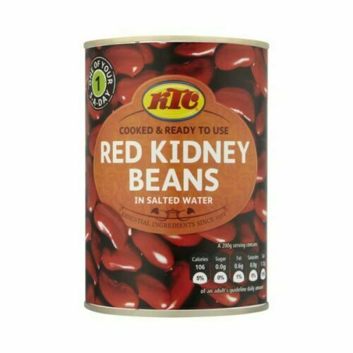 KTC TINNED RED KIDNEY BEANS IN SALTED WATER 400G