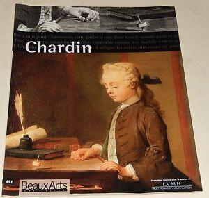 BEAUX-ARTS-Collection-CHARDIN-Catalogue-de-l-039-Exposition-1999
