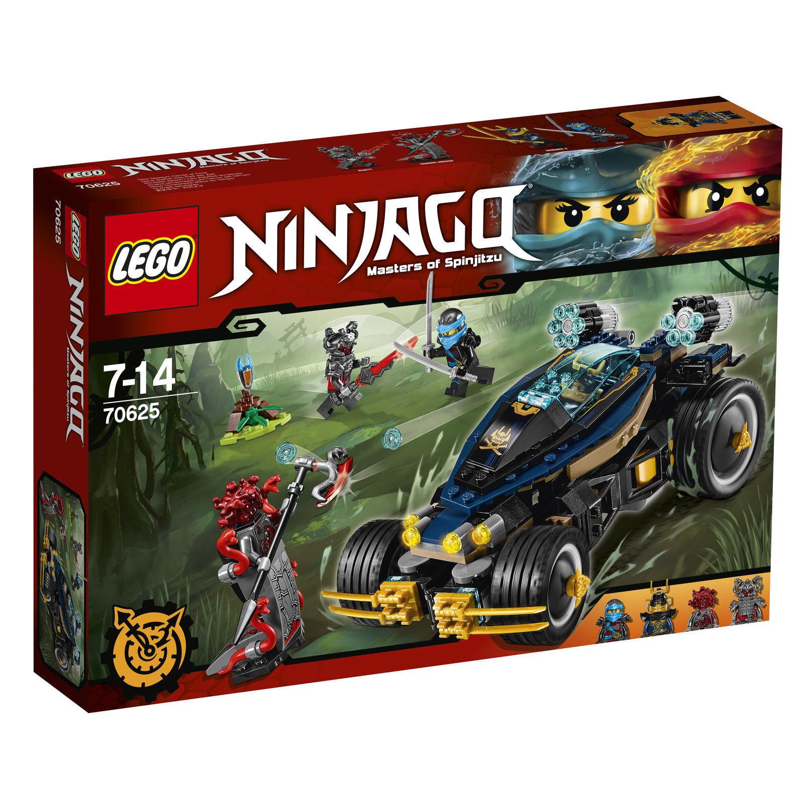 LEGO® NINJAGO™ (70625) Samurai Turbomobil inkl Versand Neu & Ovp