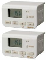Woods 50007 Indoor Digital Lamp Timer, Daily Settings, 2-pack , New, Free Shippi on sale
