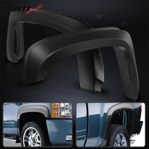 Fits-07-13-Chevy-Silverado-1500-Short-Bed-OE-Style-Trunk-Fender-Flares-PP