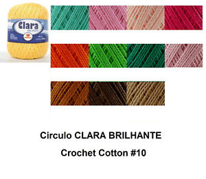 Circulo-CLARA-BRILHANTE-1000m-Crochet-Cotton-Knitting-Thread-Yarn-150g-Size-10