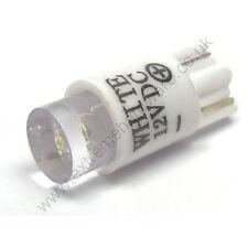 Bianco 12v 10mm T10 Zeppa Base lampadina LED per Arcade Push Pulsanti MAME,JAMMA